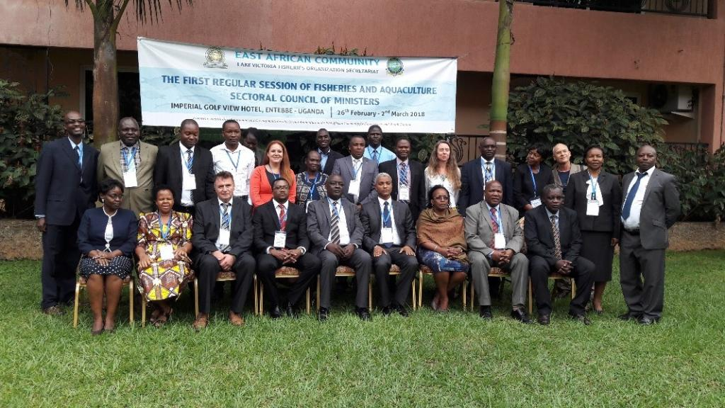 Group picture at the sectoral council