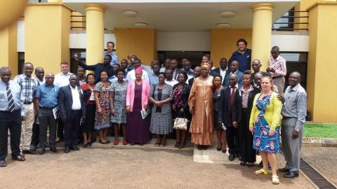 ABALOBI Mobile Application Workshop Participants group photo